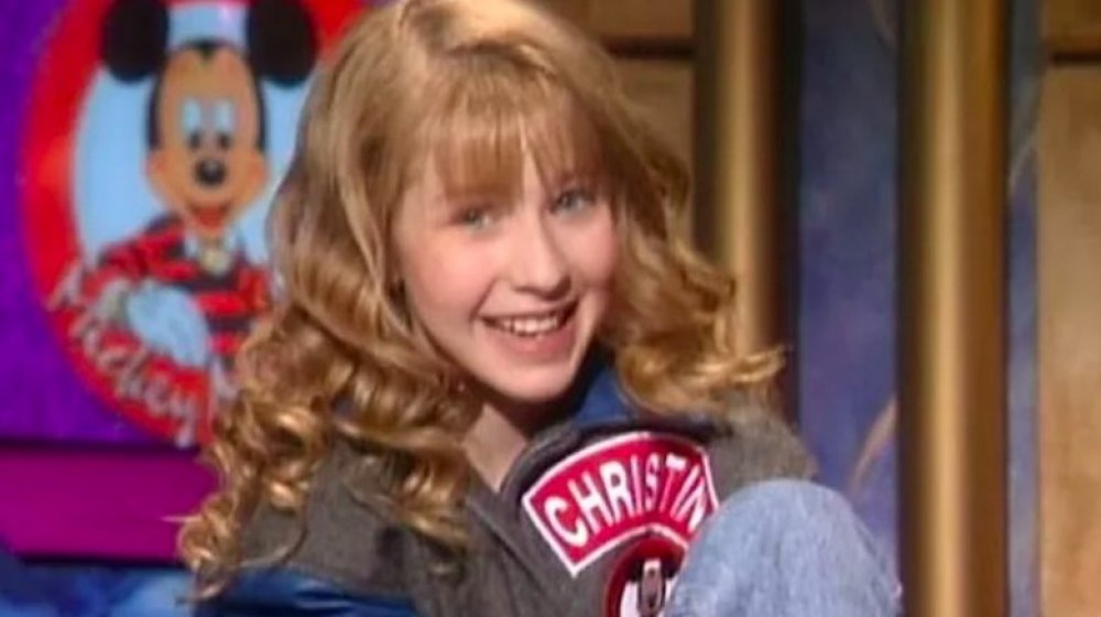 Christina Aguilera en The All New Mickey Mouse Club, 1993