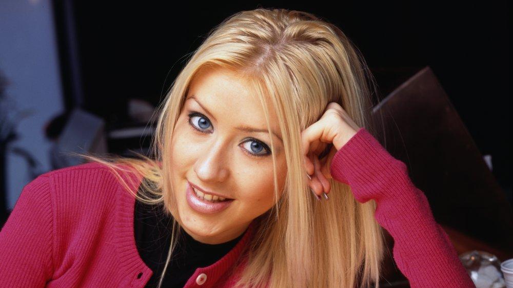 Christina Aguilera alrededor de 1995