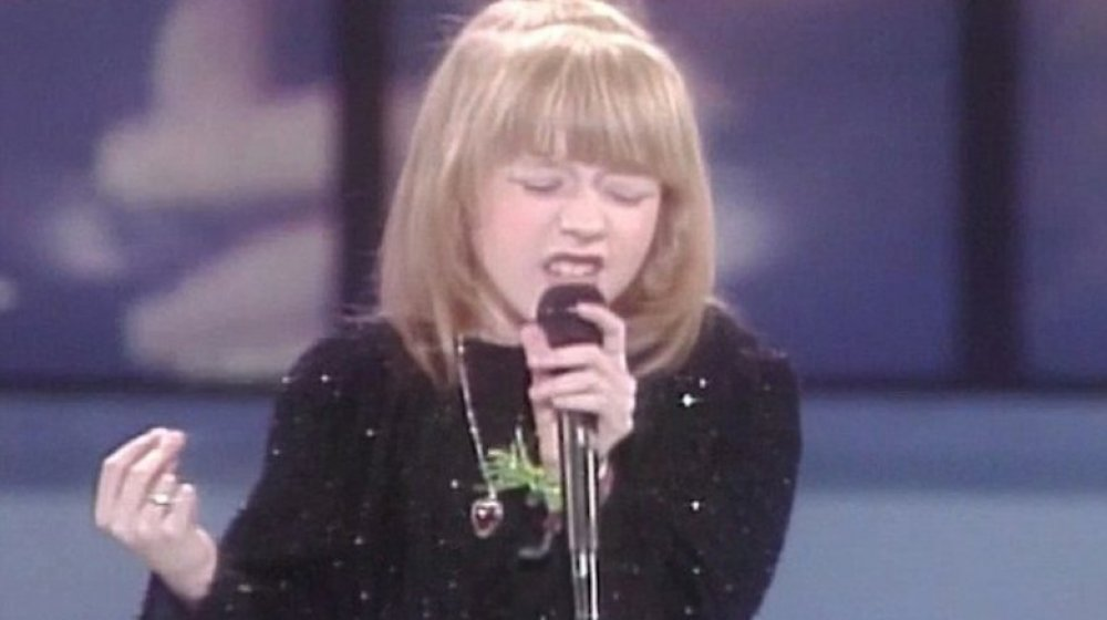 Christina Aguilera en Star Search