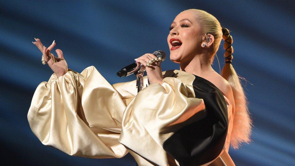 Christina Aguilera en los American Music Awards 2019