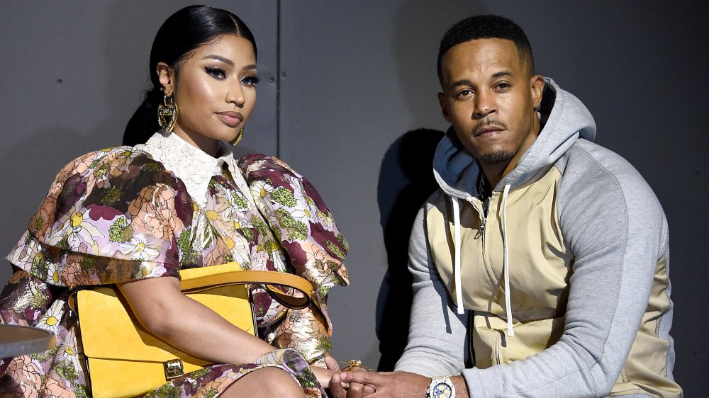 Nicki Minaj y Kenneth Petty