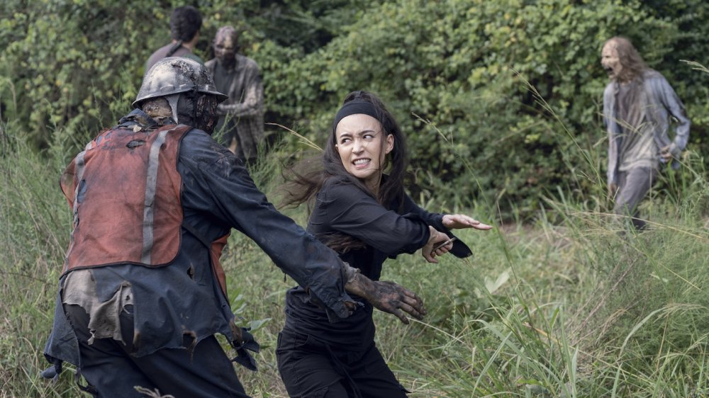 Christian Serratos sobre The Walking Dead