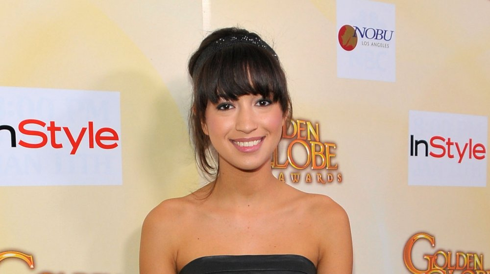 Christian Serratos en el HFPA Salute to Young Hollywood Party