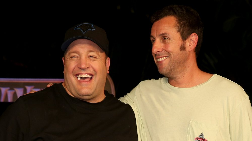 Kevin James y Adam Sandler