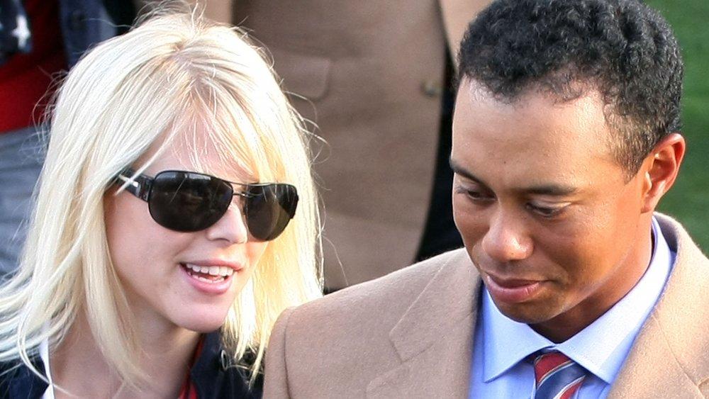 Elin Nordegren y Tiger Woods uno al lado del otro