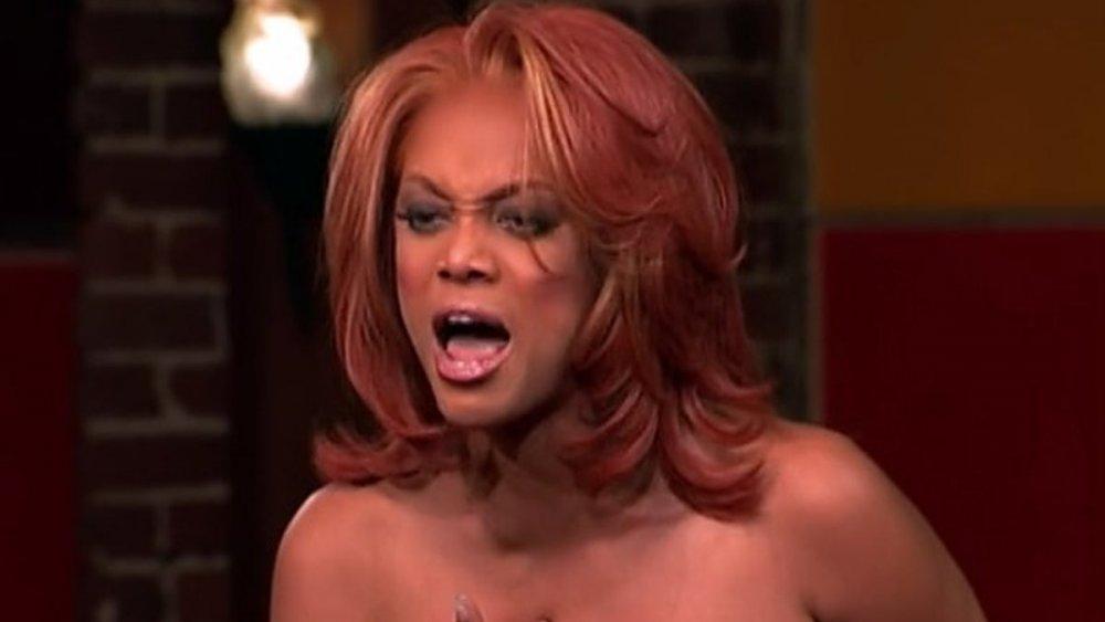 """Tyra Banks y su infame """"¡Te estaba apoyando!""""  momento"""