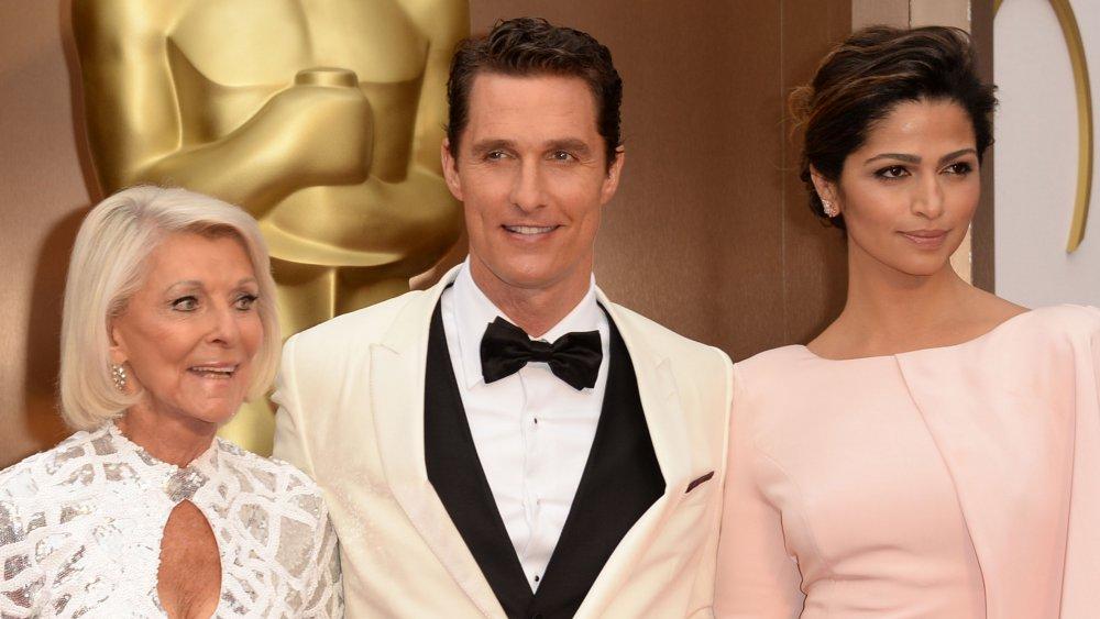 Matthew McConaughey, Camila Alves y Mary McConaughey