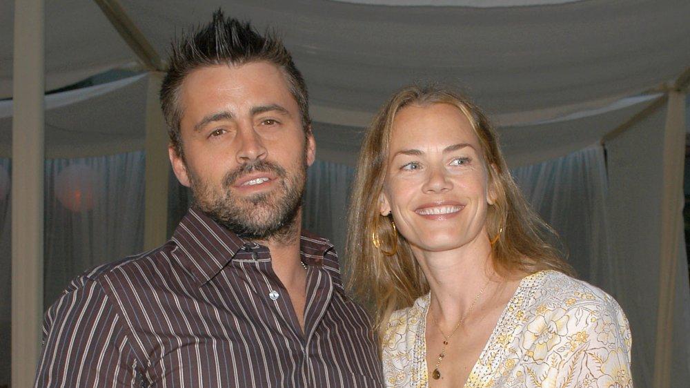 Matt LeBlanc y Melissa McKnight en el estreno de Comeback en 2005