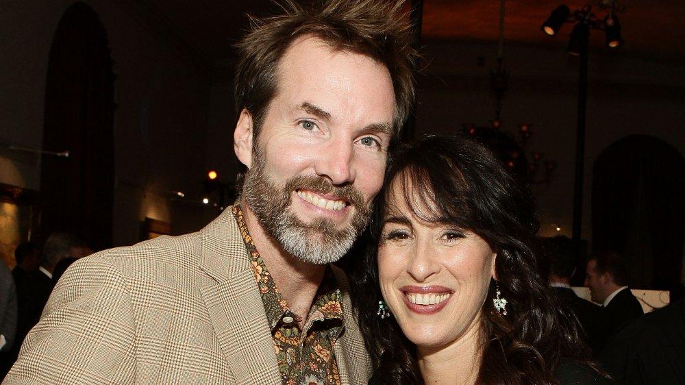 Daniel Wheeler y Maggie Wheeler en un evento en 2010