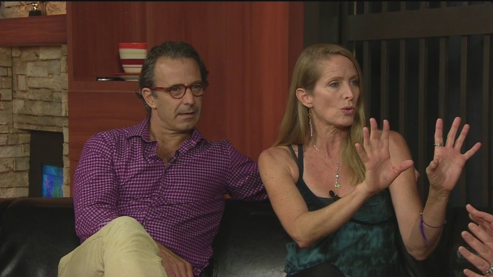 Eric Lutes y Jane Sibbett en Good Day Sacramento