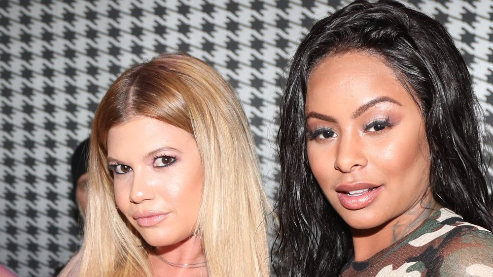Chanel West Coast y Alexis Skyy en un evento en 2017