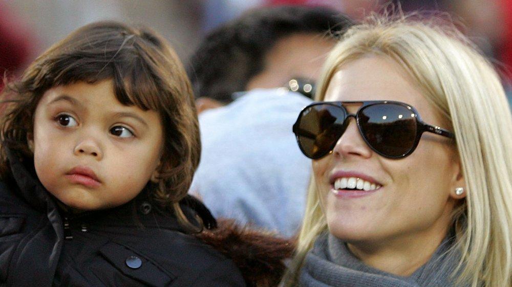 Elin Nordegren y su hija Sam