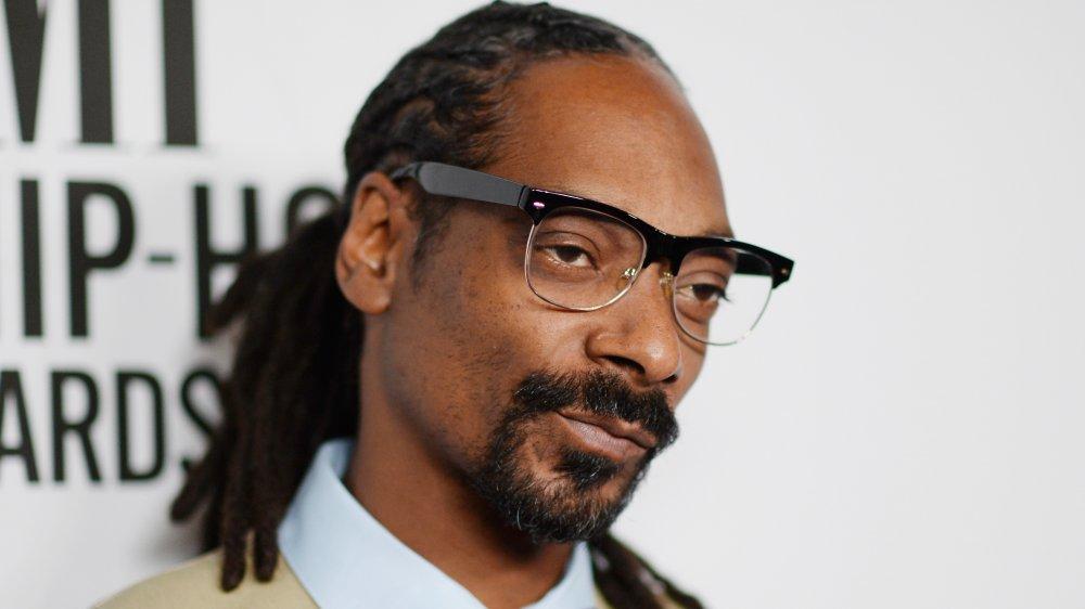 Snoop Dogg con gafas