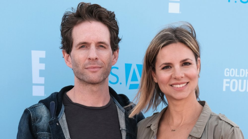 Glenn Howerton y Jill Latiano en PS Arts Express Yourself 2018