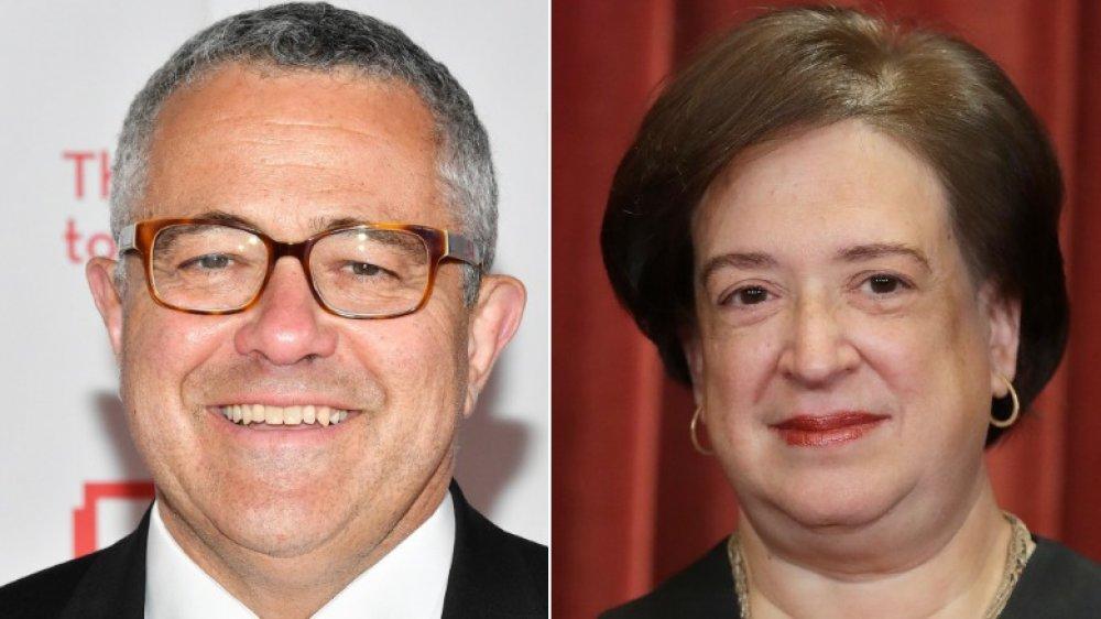 Jeffrey Toobin y Elena Kagan
