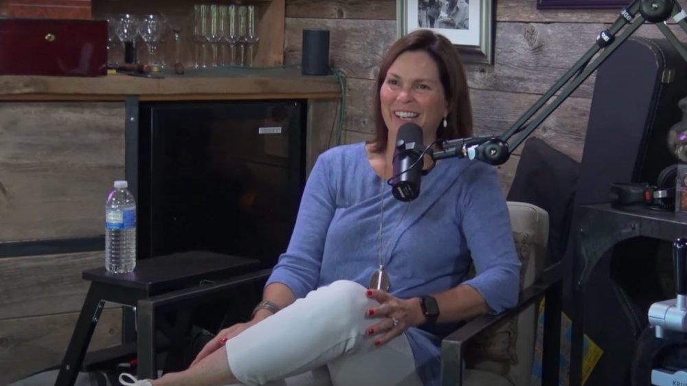 LeeAnn Kreischer graba su podcast