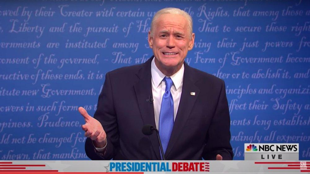 Jim Carrey como Joe Biden en SNL
