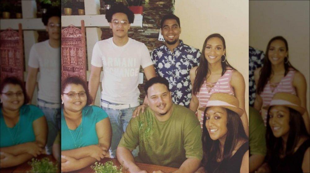 La familia de Chantel
