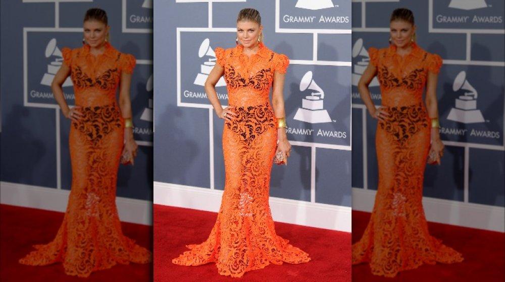 Fergie en los premios Grammy 2012