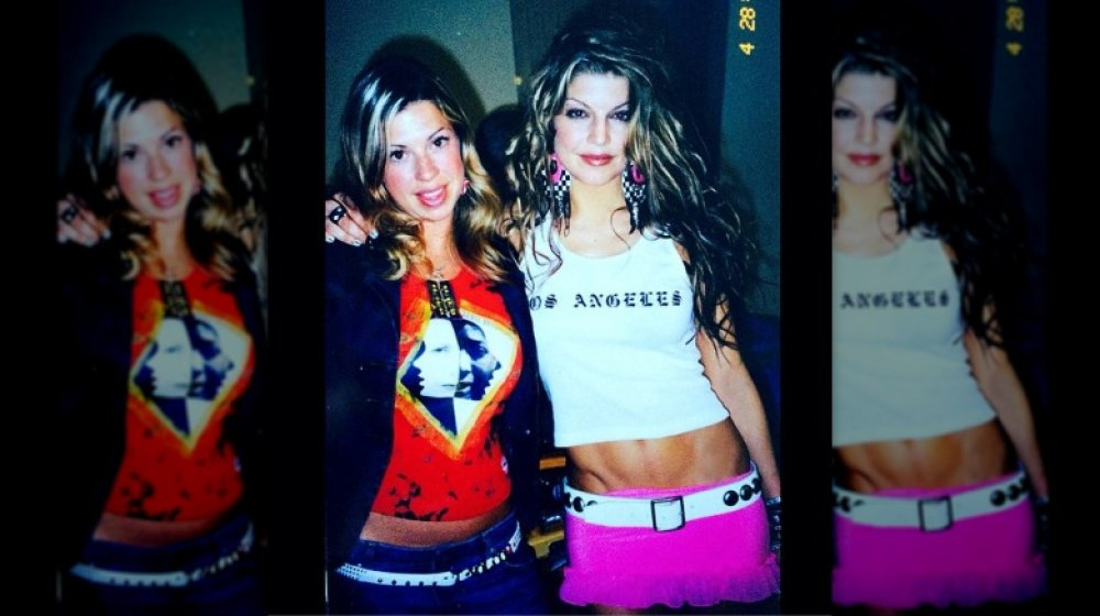 Foto retro de Dana y Stacy Ferguson