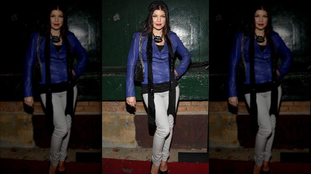 Fergie en el lanzamiento de Jump Footwear TABOOXJUMP en 2009