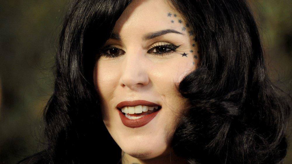 Kat Von D sonriendo