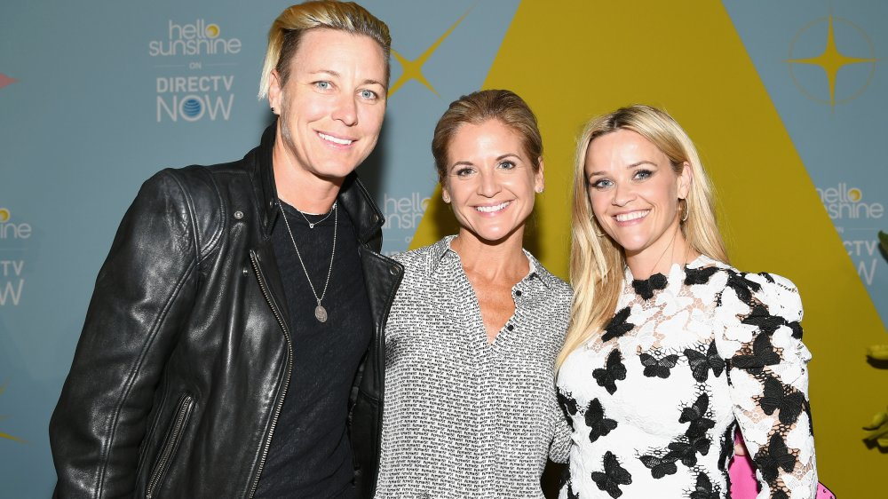 Abby Wambach, Glennon Doyle y Reese Witherspoon