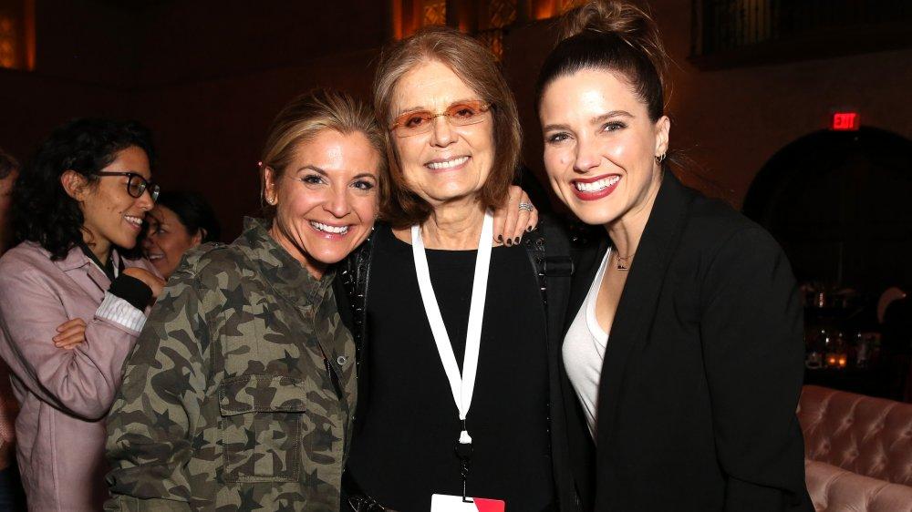 Glennon Doyle, Gloria Steinem y Sophia Bush