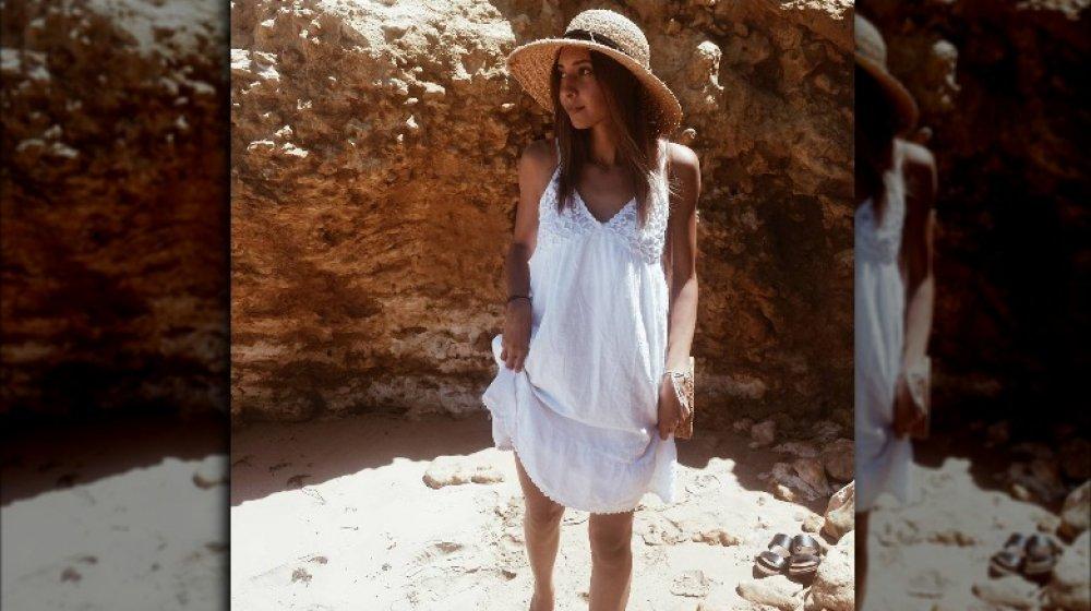 Vanessa Valladares en Torquay Beach
