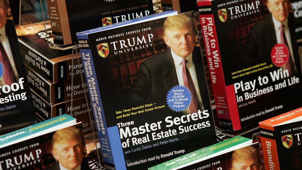 Los cursos de la Universidad Trump de Donald Trump en cinta