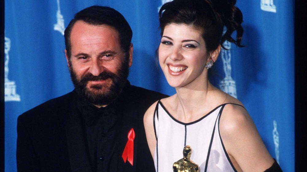 Joe Pesci y Marisa Tomei en la 65 edición anual de los Premios de la Academia