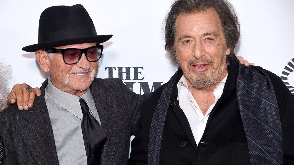 Joe Pesci y Al Pacino en una proyección de The Irishman