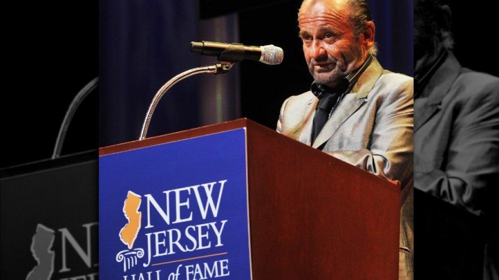 Joe Pesci en la 3ra ceremonia anual de incorporación al Salón de la Fama de Nueva Jersey