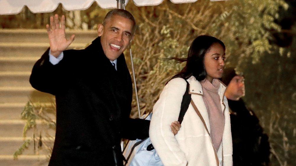 Barack Obama, Sasha Obama