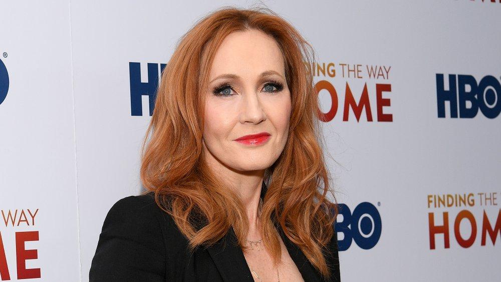 JK Rowling en el evento de HBO