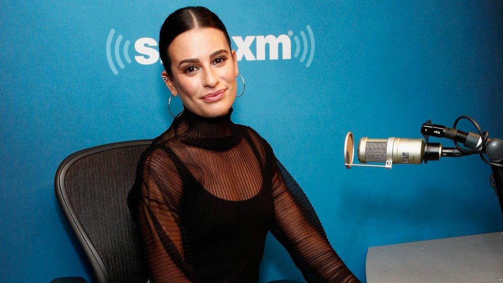 Lea Michele en el programa de radio SiriusXM