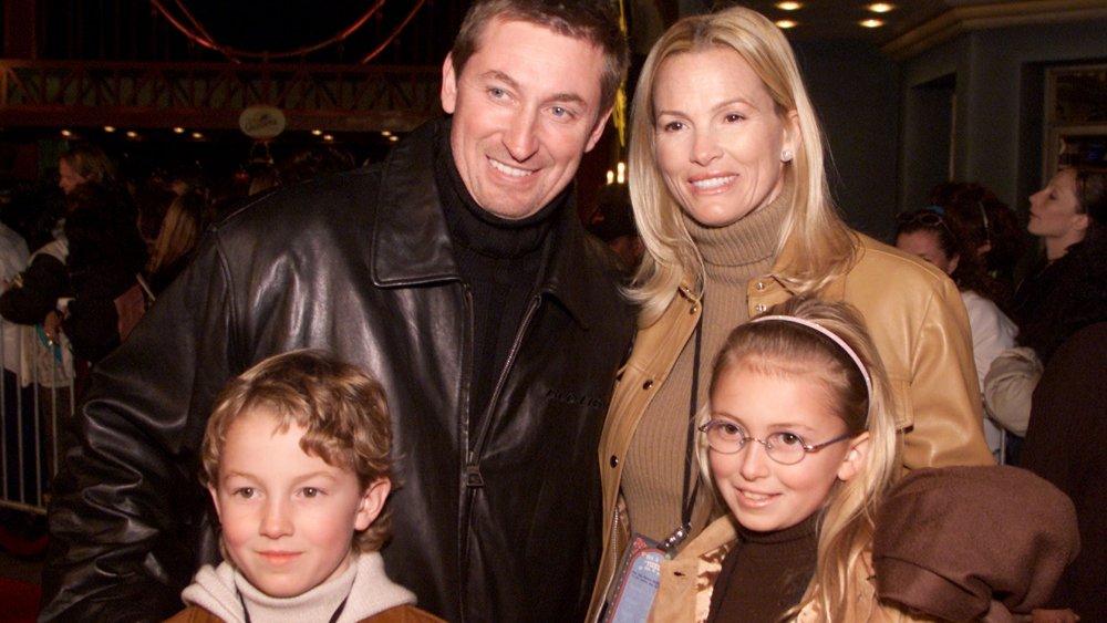 La familia Gretzky en Disney's California Adventure 2001