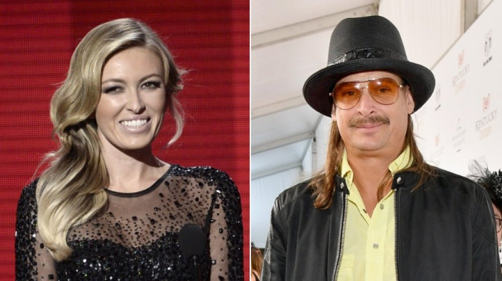 Paulina Gretzky en los American Music Awards 2013;  Kid Rock en el Derby de Kentucky 2018
