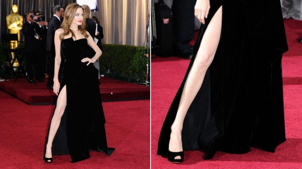 Angelina Jolie en los Oscar 2012
