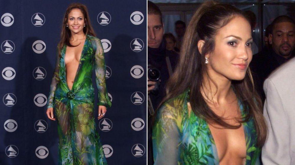 Jennifer Lopez en los Grammy 2000