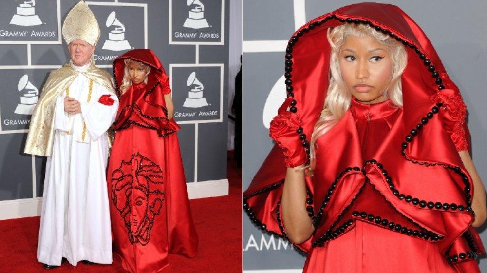 Nicki Minaj en los Grammy 2012