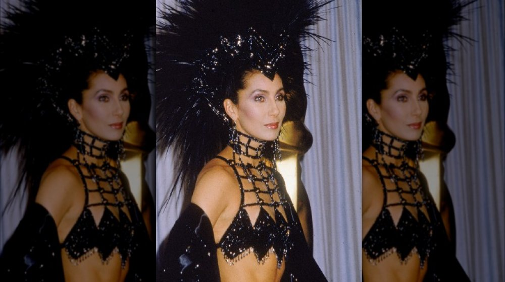 Cher en los Premios de la Academia de 1986