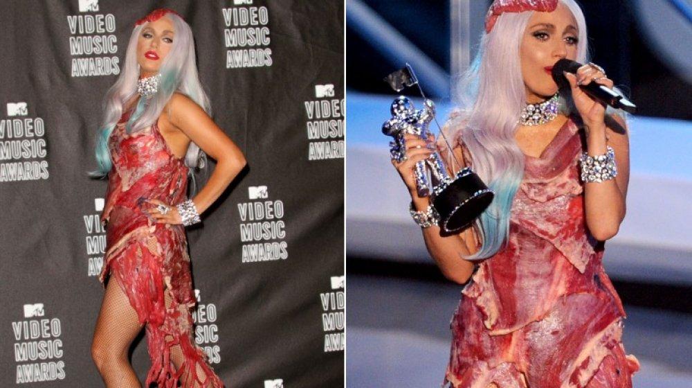Lady Gaga en los MTV VMAs 2010