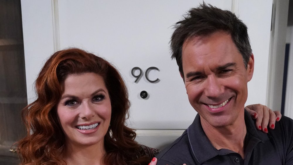 Debra Messing y Eric McCormack de Will and Grace
