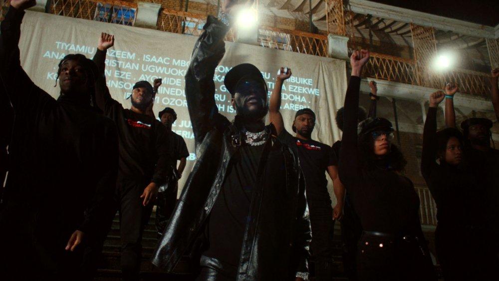 Burna Boy en los premios BET Hip-Hop 2020