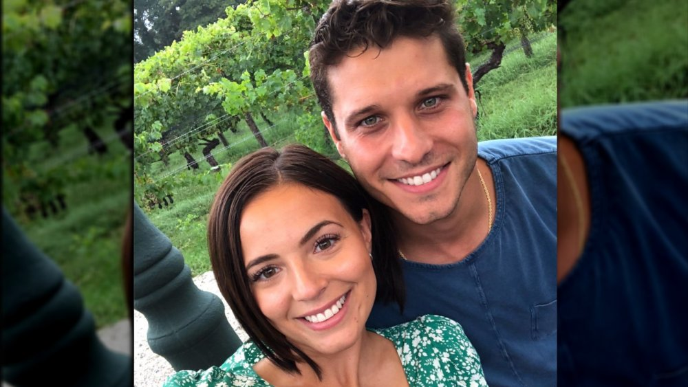 Cody Calafiore y su novia