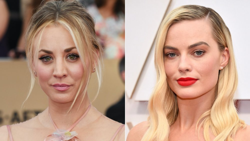 Kaley Cuoco;  Margot Robbie