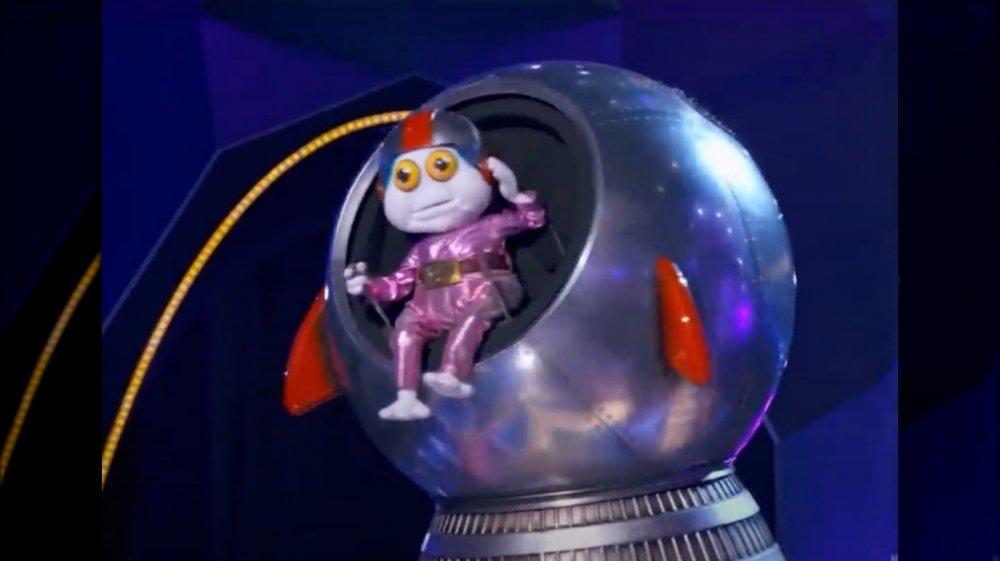 Baby Alien en El cantante enmascarado