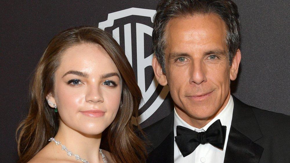 Ella Stiller y Ben Stiller asisten a la fiesta posterior a la 76a Anual de los Golden Globe Awards 2019 de InStyle y Warner Bros en el Beverly Hilton Hotel