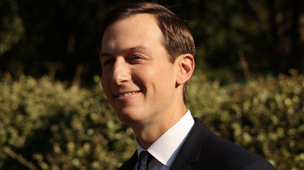 Jared Kushner en el ala oeste de la Casa Blanca